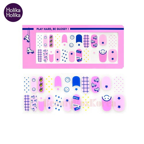 HOLIKA HOLIKA Piece Matching Nails Nail Fit Sticker 1ea [18 S/S Glossy Play Collection ]